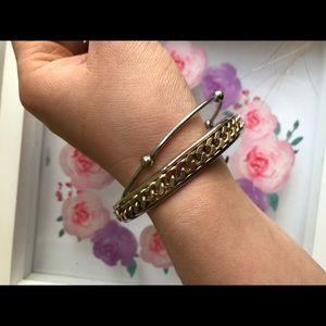 2 pc. Bangle bracelet set